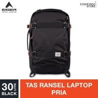 Eiger 1989 Harborbay 2.0 Pack Laptop Backpack 30L - Black