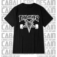 Kaos Thrasher, T-Shirt Thraser, Baju Thrasher, Thrasher