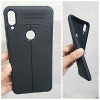 Auto Focus Zenfone Max Pro M1 Leather Soft Case Asus ZB601KL ZB602KL