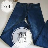 Celana jeans Pria merk Nevada size 32