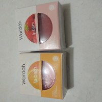 wardah lip balm // strawbery // jeruk // 1 pcs