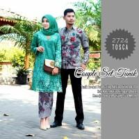 Couple set Batik Tunik Burkat Modern/ Baju Kebaya Wisuda Terbaru...