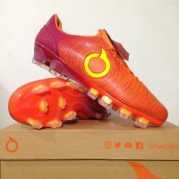 Sepatu Bola OrtusEight Catalyst Oracle FG Ortrange Red SPTB