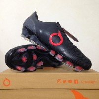 Sepatu Bola OrtusEight Catalyst Oracle FG Black Ortred SPTB