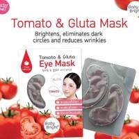 Baby Bright TOMATO & GLUTA Eye Mask Sachet - Masker Mata