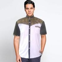 Baju Koko Batik Kombinasi Masja - Bisa Seragam