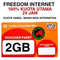 VOUCHER DATA INDOSAT 2GB FREEDOM 24JAM