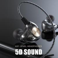 Budget Headset K1 Stereo HiFi Sport Bass Earphone With Microphone