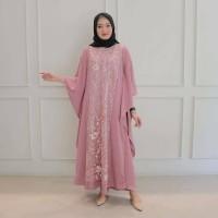 baju gamis wanita terbaru mikayla kaftan / fashion wanita / baju murah