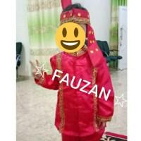 Baju sulawesi TK - SD // baju bodo laki // baju makassar