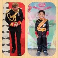 Pangeran Harry/ Kostum Pangeran/ Baju Kerajaan Inggris