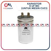 Kapasitor 9 uf MC Pompa Air Mesin Cuci LG Capasitor Sanyo mikro Single
