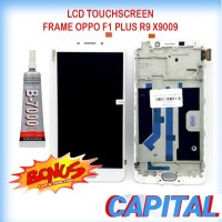 BONUS LEM B7000 LCD TOUCHSCREEN FRAME OPPO F1 PLUS R9 X9009 ORI NEW