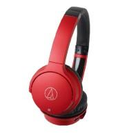 Audio Technica ATH AR3BT AR3 BT Wireless Headphone Bluetooth - Red