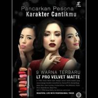 promo asyik ❤ BELIA ❤ LT Pro Velvet Matte Lipstick TERBARU