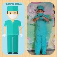 Baju Anak,Baju Kostum Dokter Bedah/Baju Profesi