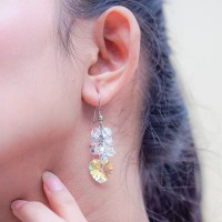 Anting Swarovski Hati Asli - Cactier Earring Aurore - by AR Hestia