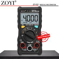 Zoyi ZT C2 Avometer Digital Multimeter Digital Buzzer Capasitor Diode