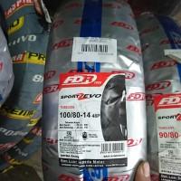Baru Ban Tubeless FDR Sport Zevo 100/80 ring 14 motor vario beat