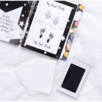 Paket 2 My Baby Journal + Clean inkcard stempel bayi