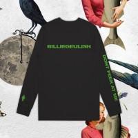 Kaos Billieeilish dengan Kearifan Lokal