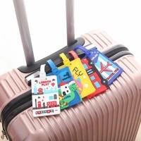 Luggage Tag Label Koper Design Unik (Koper jadi mudah dikenal) J31
