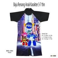 Baju Renang Anak Karakter Poli Usia 3-7 thn - BRDL-TKK084