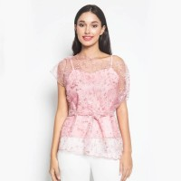 TOP CAMISOLE 2IN1 PEARLY GLITER - Atasan Best seller - Hijau