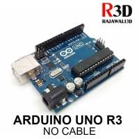 Arduino Uno R3 DIP 16u2 Grade Clone with Logo Tanpa Kabel