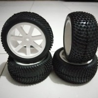 S16 ban RC Truggy, SCT, buggy offroad Tires 1:10 hex 12mm