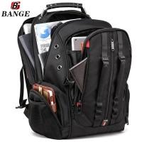 Bange Tas Ransel Backpack Pria 17 Inch BG1901 Hitam