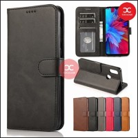 Flip Case Wallet Leather Samsung Galaxy A10S /A20s Leather Case Dompet