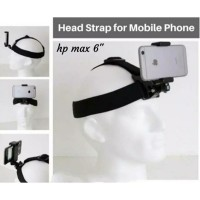 head strap kepala mounting vlog handphone holder satoo