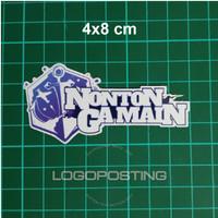NONTON GA MAIN - Sticker Logoposting Azur Lane Stiker