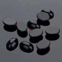 Natural Batu Onyx Black Agate 14x10mm Original Stone