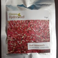 Benih Red Amaranth Microgreens 5 gr