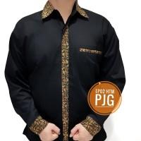 Seragam Batik EPB02 Panjang Baju Kemeja Kantor Batik PDL Drill PDH - S M L XL