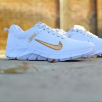 Dropship Only Sepatu Nike Air Presto Full Putih Centang Emas