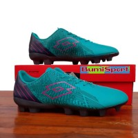 Sepatu Bola Lotto Blade Fg Scuba Blue Eclipse Pink Neon Original