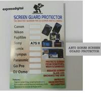 ANTI GORES SCREEN GUARD PROTECTOR KAMERA SONY A7S II
