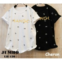 CHERON 16952 - Baju Kaos Oblong Wanita Dewasa JUMBO 3XL
