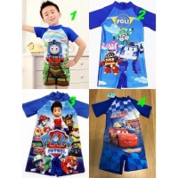 baju renang diving anak cowok karakter usia 5-11tahun/baju renang anak