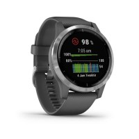 Garmin Vivoactive 4 GPS Wi-Fi Shadow Gray/Silver SEA