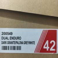 Sepatu Running Lari Specs Dual Enduro Palona Grey 200549 Original Bnib