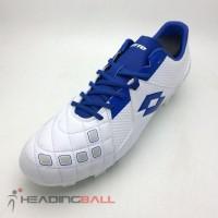 Sepatu Bola Lotto Original Squadra Fg White Dawn Blue L01010012