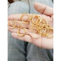 Anting ring bulat kode 420 berat 1 gram