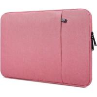 Tas Laptop Softcase Macbook Waterproof Nylon 13 inch - Pink