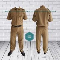 Seragam Keki Pemda PNS/ Setelan Baju Keki Pemda PNS Cowok