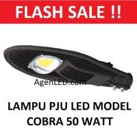 Lampu Jalan 50W PJU LED 50 w watt kap sorot cobra outdoor street light