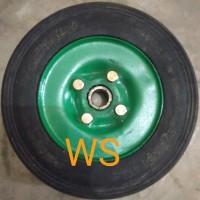 Roda Ban mati lori trolley wheel 8 inch 500 kg kilogram 2 bearing